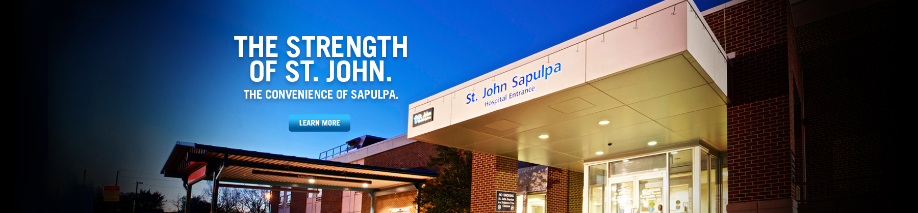 The Strength of St. John - Sapulpa