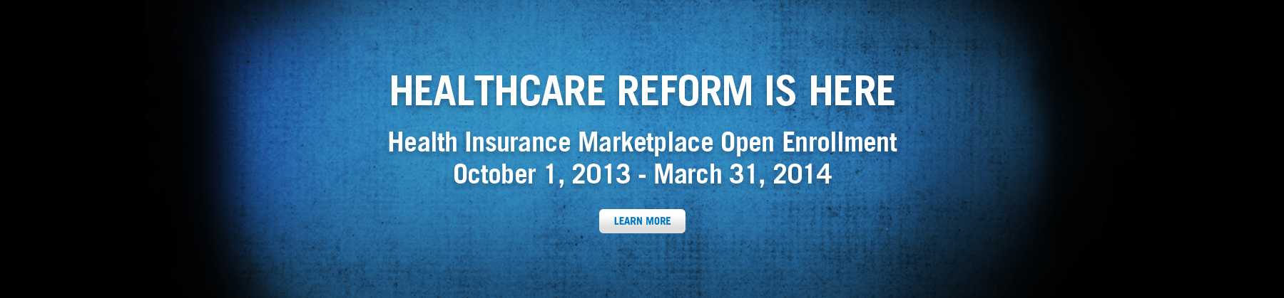 Healthcare Reform is Here