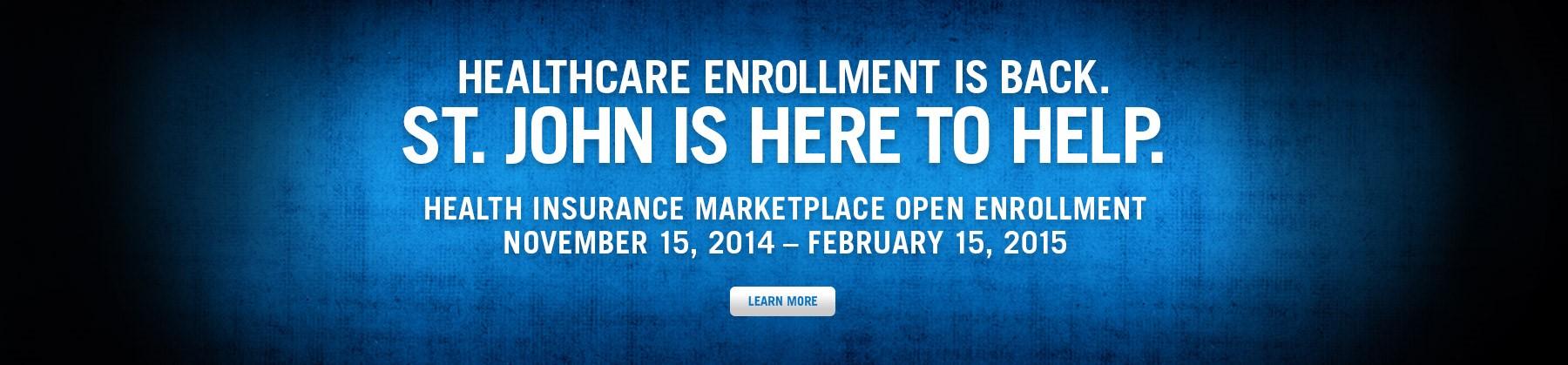 Healthcare Enrollment Is Back
