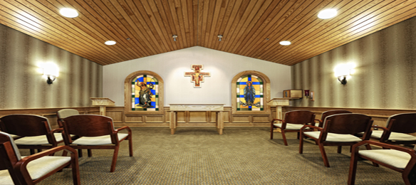 Picture of the Chapel and pastoral care at St. John Broken Arrow hospital.