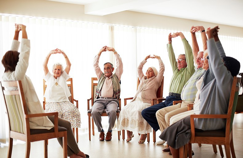 Older adults in rehab