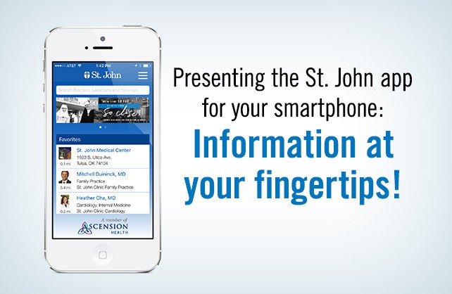 Presenting the St. John app for your smartphone: Information at your fingertips!