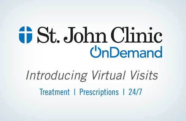 24/7/365 doctor visits from St. John Health System