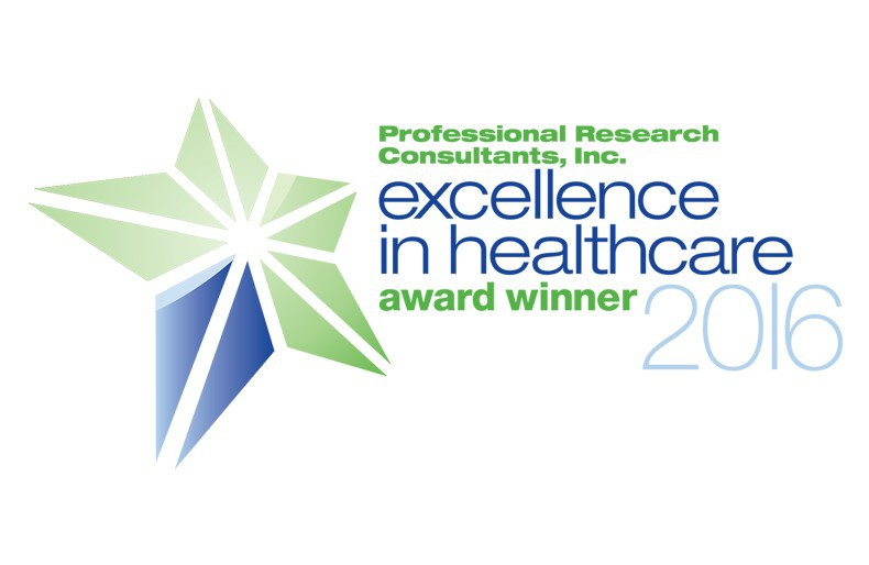 PRC Excellence in Healthcare logo
