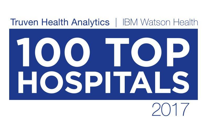 Truven Top 100 Hospitals logo