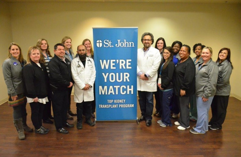 St. John Transplant team