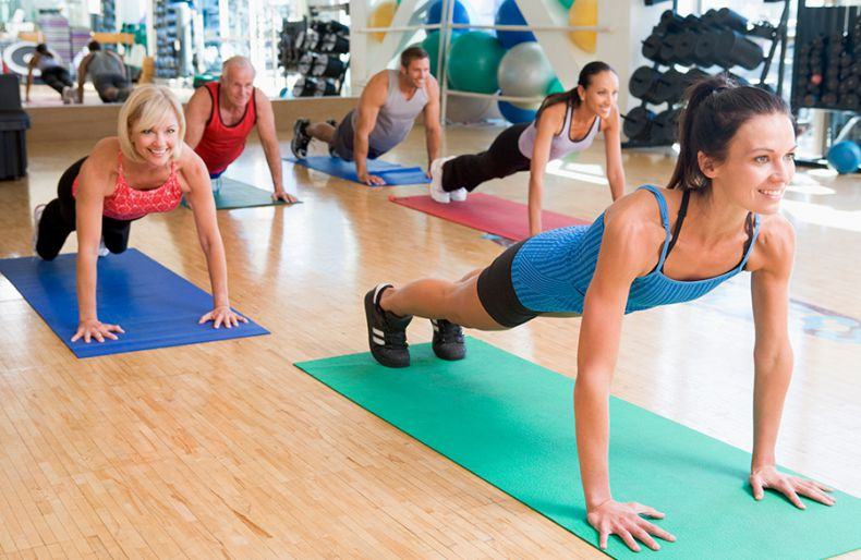 Yoga classes at St. John Health Club