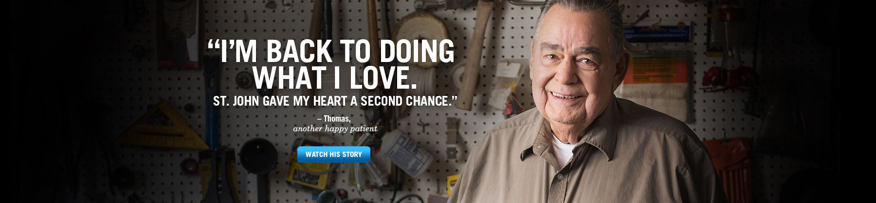 Thomas Mason, Heart Institute Patient