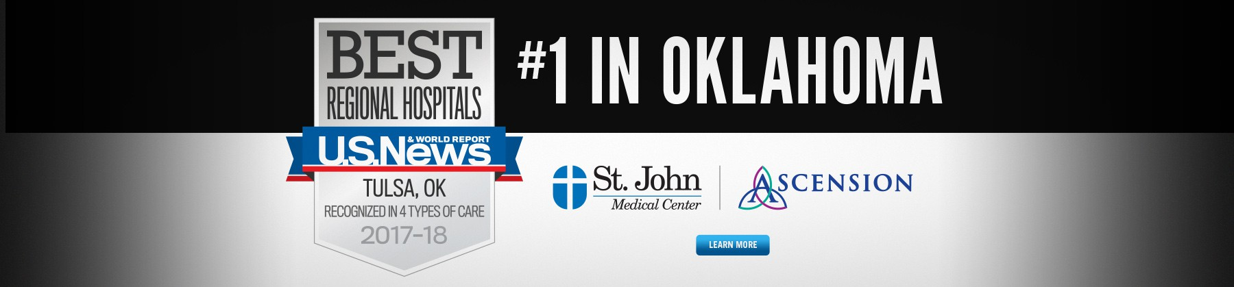 St. John Medical Center Named No. 1 Hospital in Oklahoma by U.S. News & World Report