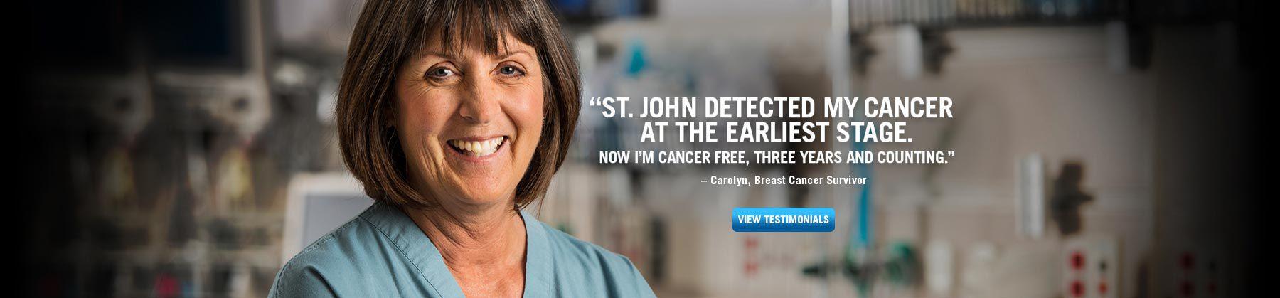 Carolyn, Breast Cancer Survivor